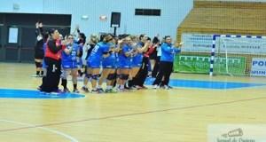 Handbal : Victorie a fetelor conduse de Bogdan Burcea in fata Rapidului 21
