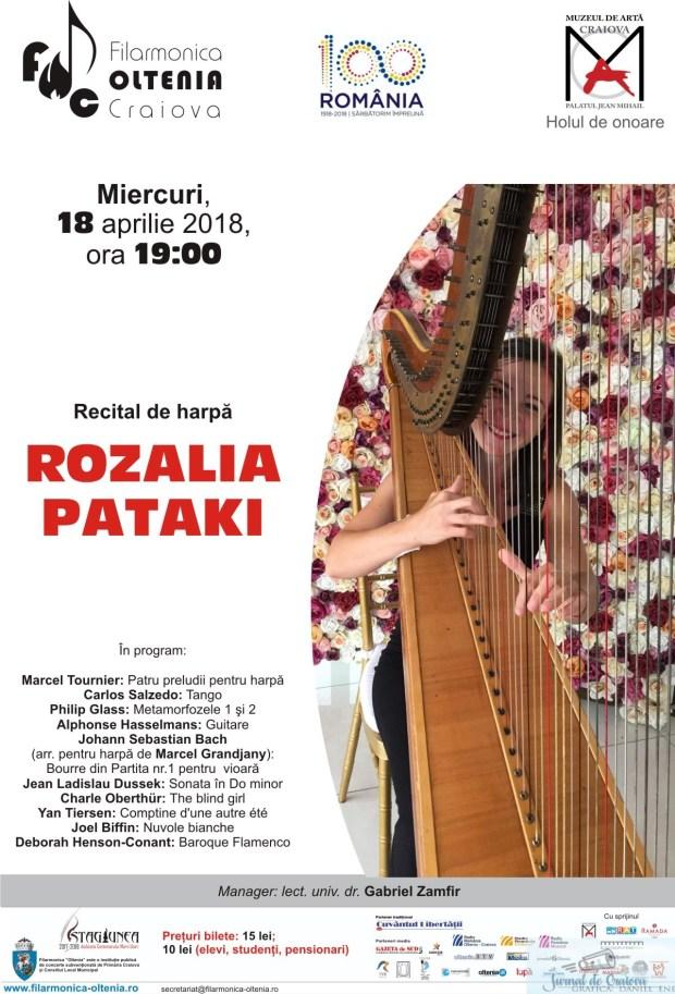 Recital de harpa Rozalia Pataki