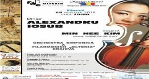 """Concert Ceaikovski cu violonista coreeana Min Hee Kim, la Filarmonica """"Oltenia"""" 6"""