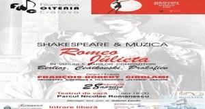 """SHAKESPEARE SI MUZICA : Concert """"Romeo si Julieta"""" in Parcul Romanescu 47"""