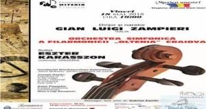 "Concert Haydn-Piazzolla cu dirijorul Gian Luigi Zampieri la Filarmonica ""Oltenia"" Craiova 13"