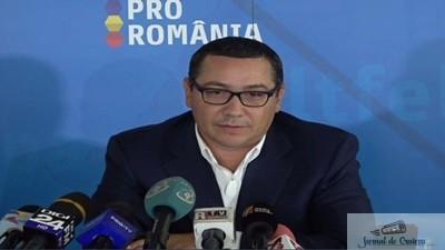 Ponta stie cum actioneaza Guvernul inainte de proteste 1