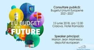 Consultare – Bugetul Uniunii Europene 2021-2027 1