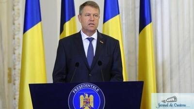 Klaus Iohannis neaga o posibila legatura intre clasarea dosarului sau si candidatura lui A. Lazar!