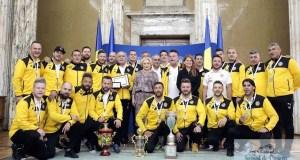 Premierul Viorica Dancila, intalnire cu artistii fotbalisti romani, campioni mondiali in anul Centenarului 1