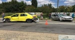 Patru raniti intr-un ACCIDENT, comuna MALU MARE ! 20