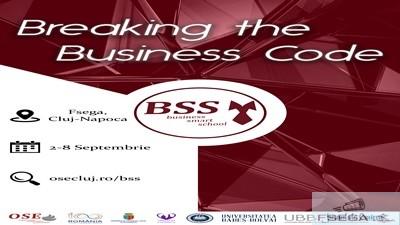 Scoala de toamna BUSINESS SMART SCHOOL Cluj-Napoca, 2018 1