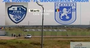 Fotbal : Primul test pentru FC U Craiova ! C.S. Jiul Rovinari - FC U Craiova 7