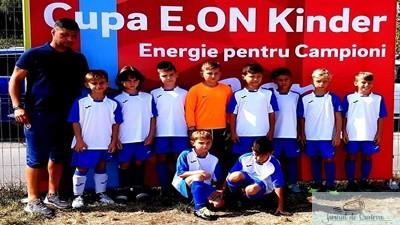 Fotbal : Dinamyk Craiova 2009 locul 4 la turneul E ON KINDER TARGU MURES 1