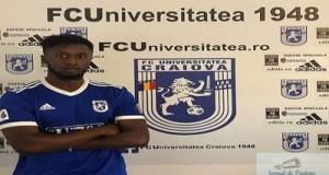 Fotbal : FC U Craiova a adus un nou jucator, acesta este francezul Doumbouya Kemoko 3