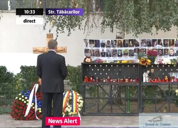 Presedintele marcheaza momentul! Gestul lui Klaus Iohannis la 3 ani de la tragedia de la Colectiv.. 2