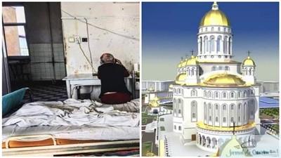 Vrem spitale nu catedrale ! La aproape 30 de biserici exista un singur spital 1