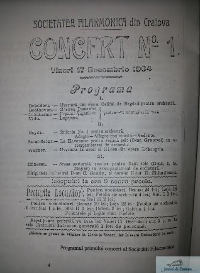 Ziua Filarmonicii Oltenia - 114 ani de la primul concert al Societatii Filarmonice din Craiova 4