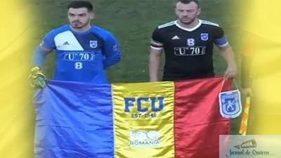Fotbal : Universitatea Craiova va ureaza La multi ani ! 1