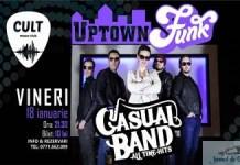 Casual Band - primul concert din 2019 il sustine in Cult Music Club