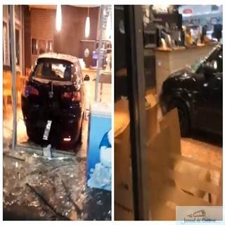 Accident grav:O masină a intrat  intr-o benzinarie din Craiova. 1