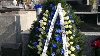 Fotbal : De la mormantul lui Cristi Neamtu lipseste coroana depusa de Universitatea Craiova 1