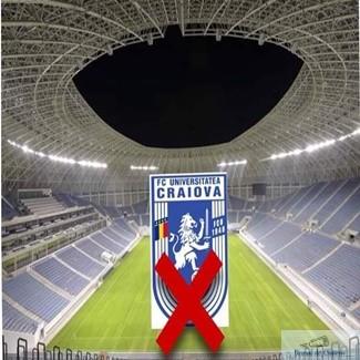 Fotbal : Universitatea Craiova are interzis pe stadionul din Craiova! 1