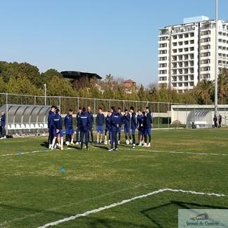 Fotbal : Ultimul antrenament inaintea meciului amical al echipei Universitatea Craiova cu Szeged ! Probleme in lot afla cine nu joaca azi! 1