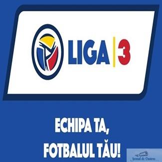 Fotbal : Liga 3 Seria 3 programul etapei cu numarul 20 ! 1