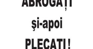 Protest Craiova : Abrogati si apoi Plecati ! 1