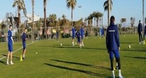 Fotbal : Universitatea Craiova a efectuat ultimul antrenament inaintea amicalului cu Arsenal Tula 4