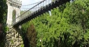 Se reabiliteaza podul din Parcul Romanescu 13