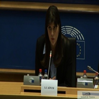 Kovesi s-a clasat pe primul loc pentru sefia Parchetului european dupa votul din comisia CONT 1