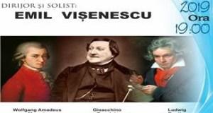 Concert la Filarmonica Oltenia Craiova cu Emil Visenescu in dubla ipostaza, dirijor si solist 4