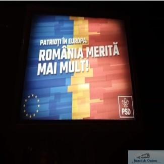 #Îndrăzneștesăcrezi Romania Merita Mai Mult ! Au aparut panourile PSD in Craiova ! 1