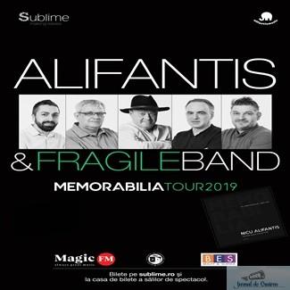 Turneu national ALIFANTIS & FRAGILEBAND – MEMORABILIA 1
