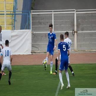 Fotbal : Adrian Ster a debutat pentru Universitatea Craiova 1