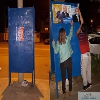 Prima zi de campanie electorala in Craiova a adus si primele probleme .. 1