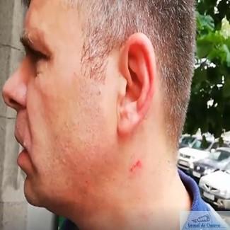 Malin Bot, batut chiar in sediul Judecatoriei de unul dintre jandarmii din 10 august 1
