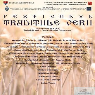 """FESTIVALUL DE DATINI SI OBICEIURI """"TRADITIILE VERII"""" - Editia a VIII-a"""