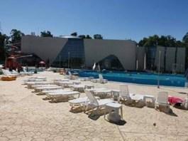 Sobolanii fac plaja la Water Park Craiova !