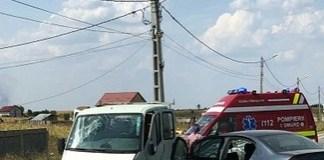 Accident in Cosoveni . Sase persoane ranite printre care patru copii!