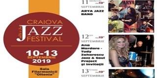 Craiova Jazz Festival, editia a III-a 10 - 13 septembrie 2019