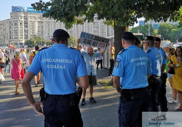 10 August - Marele protest din Capitala si alte proteste in tara ! Craiova zace inca in comunism ....