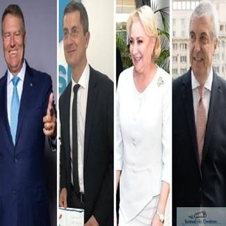 SONDAJ ALEGERI PREZIDENTIALE 2019 : Cine credeti ca va ajunge in turul al doilea la Alegerile Prezidentiale ?