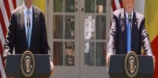 LIVE VIDEO Presedintele Iohannis este primit la Casa Alba de catre Donald Trump