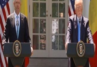 Presedintele Iohannis va fi primit, maine, la Casa Alba, de Donald Trump