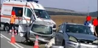 Accident la iesirea din Radovan . Un copil de 5 ani a murit in urma accidentului ..
