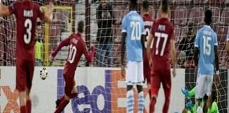 Fotbal : Victorie pentru CFR Cluj cu Lazio la debutul în grupele Europa League