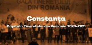 """CONSTANTA ESTE NOUL ORAS CASTIGATOR AL TITLULUI """"CAPITALA TINERETULUI DIN ROMANIA"""", EDITIA 2020-2021"""