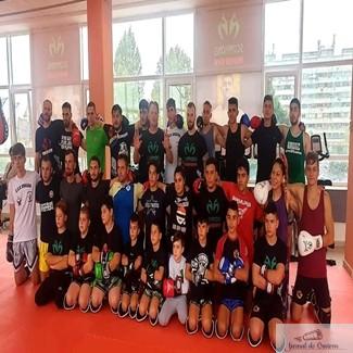 KickBox : Ionut Puca a inaugurat sala de antrenanente Scorpions Power Gym si proiectul One Sport Project !