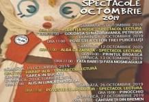 Trei povesti in primul week-end al lunii octombrie, la Teatrul Colibri! De luni se da startul atelierelor de creatie.