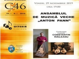 Festivalul International Craiova Muzicala - Editia 46 Seara a 4-a ANSAMBLUL DE MUZICA VECHE ANTON PANN