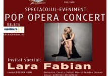 Opera Romana Craiova va invita la Pop Opera Concert ! Lara Fabian - invitat special ..