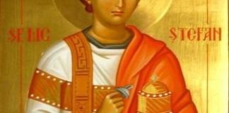 Traditii de Sfantul Stefan, apostolul celebrat in cea de-a treia zi de Craciun